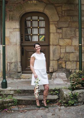 Robe Geraldine et Top Gisèle / Portez vos idées !!! By Sandrine Collection personnalisée 2017