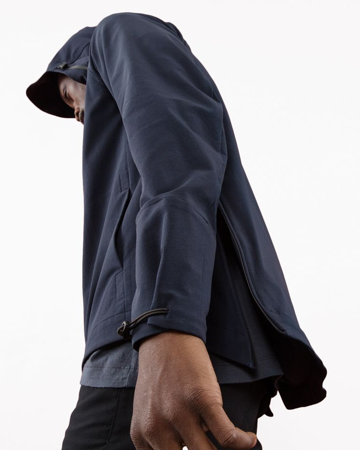 Outlier - Freeshell (Navy Space Extreme Low Angle) #BOTTOMVIEW