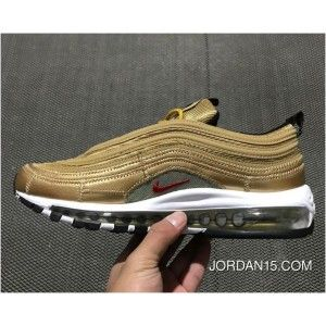 New Release Cristiano Ronaldo With Nike Air Max 97 Cr7 Gold Nike