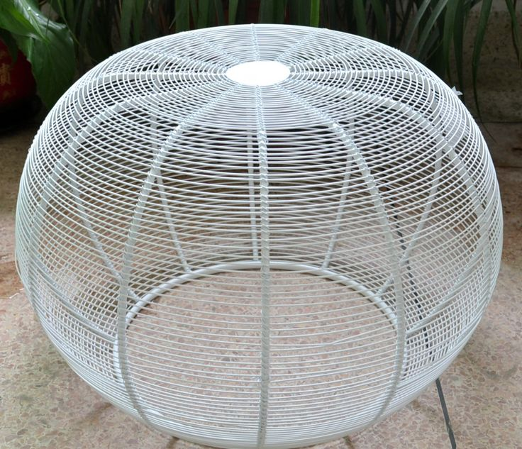 DECOR | Small white iron stool which can also be used as a table. Just $110RRP AUD but wholesale is also available. For enquiries, email: info@philbee.com.au