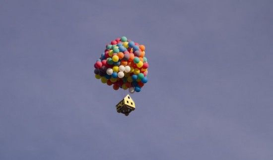 Real life version of Up. Love that movie :)