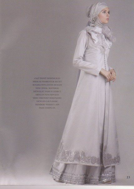 Muslima evening dress #4 #MuslimWedding, www.PerfectMuslimWedding.com