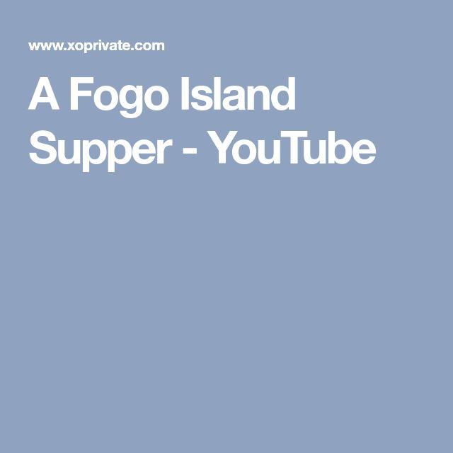 A Fogo Island Supper - YouTube