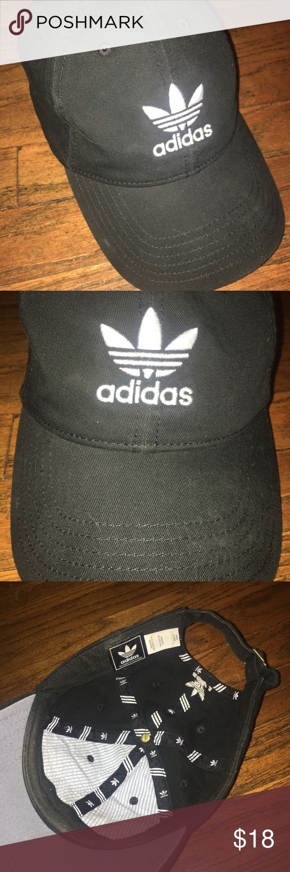 Black Adidas Baseball Cap Great condition! Only worn once! adidas Accessories Hats