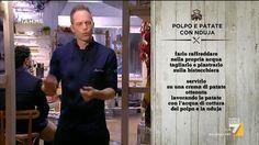 Trasformare la 'nduja in un piatto creativo con Simone Rugiati si può la ricetta del Polpo e patate con la 'nduja