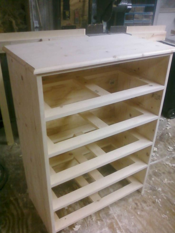 image of building a dresser