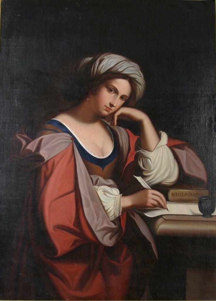 After Domenico Zampieri, Sibilla Persica, ca 1800