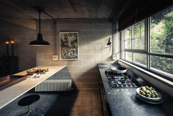 Modern kitchen interior design inspiration bycocoon.com   sturdy stainless steel kitchen taps   kitchen design   project design & renovations   RVS keukenkranen   Dutch Designer Brand COCOON