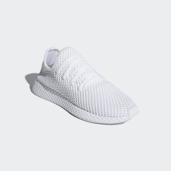 buy popular 3193b 707e0 CQ2625 adidas Deerupt Runner Triple White