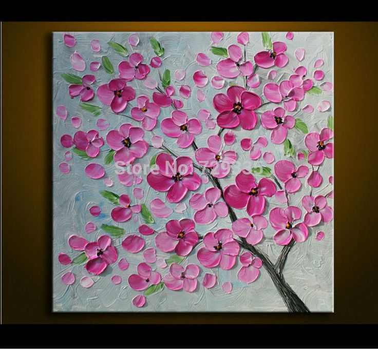 10 best fleurs images on Pinterest Abstract art paintings