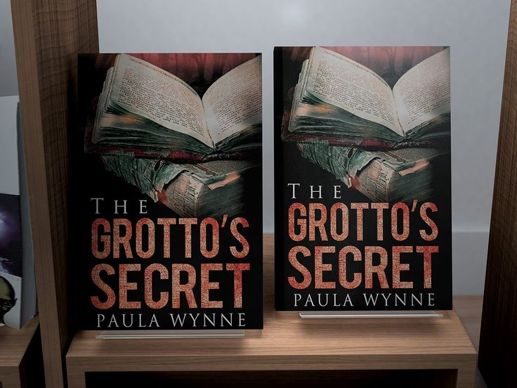 Imagine seeing my book, The Grotto's Secret, on a high street bookstore shelf!