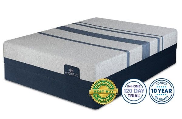 Serta Mattress - iComfort Blue 100 Gentle Firm California King Mattress Set - Blue 100-CAL. KING