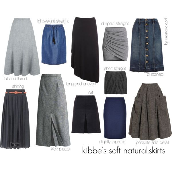 kibbe's soft natural - skirts