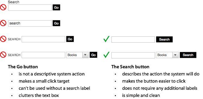 search button advantages