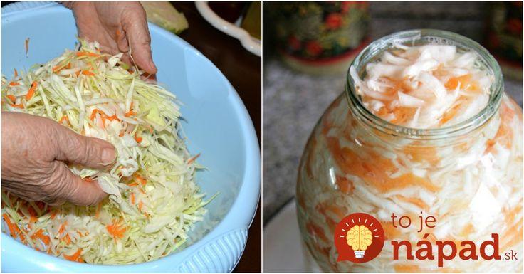 Rýchly a jednoduchý recept na kvasenú kapustu, ktorú pripravíte bez sudu. Navyše, vďaka jablkám získa kapusta ešte viac na chuti. Môžete si na nej pochutnávať už o dva dni. Oplatí sa vyskúšať!