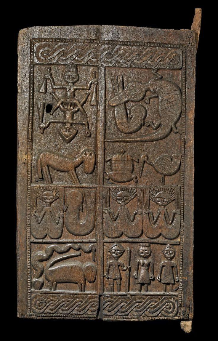 Yoruba Ilekun (Palace Door), Ekiti - Ise, Nigeria