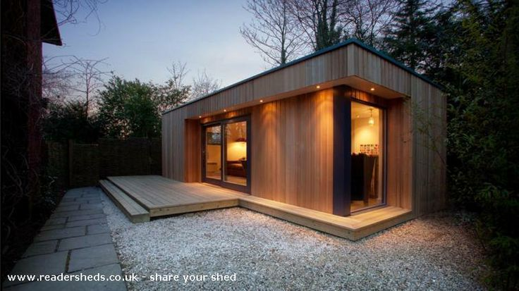 K Garden Office Shed, Worcestershire