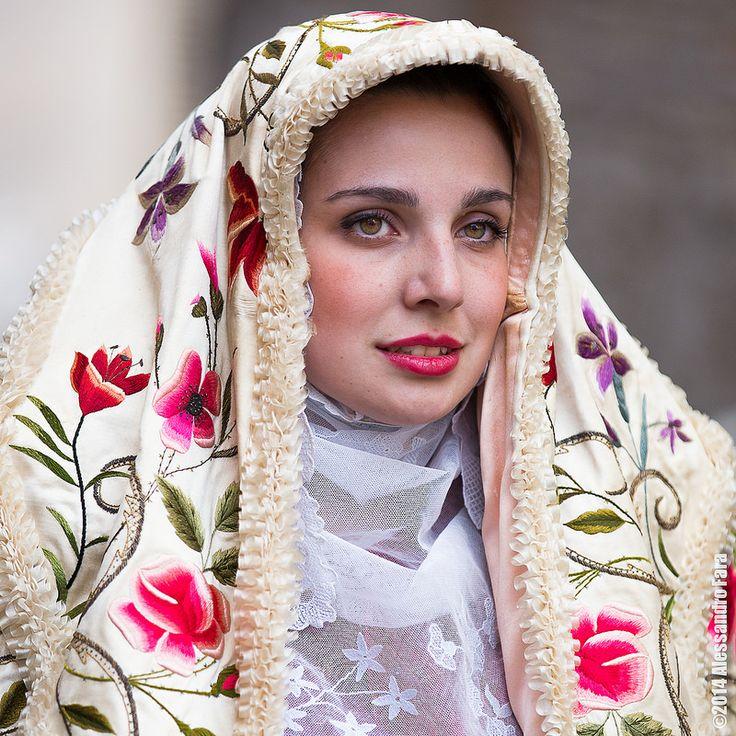 Costume sardo #TuscanyAgriturismoGiratola
