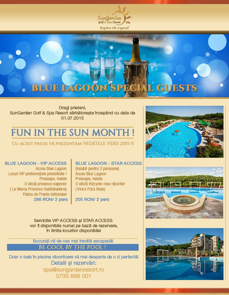Blue Lagoon Vip & Star Access - Sun Garden Resort