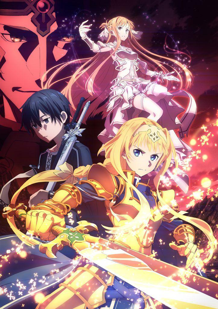 Aniplex Ha Revelado El Tráiler De La Tercera Parte Del Anime Sword Art Online Alicization Titulad Sword Art Online Personajes De Anime Wallpaper De Anime