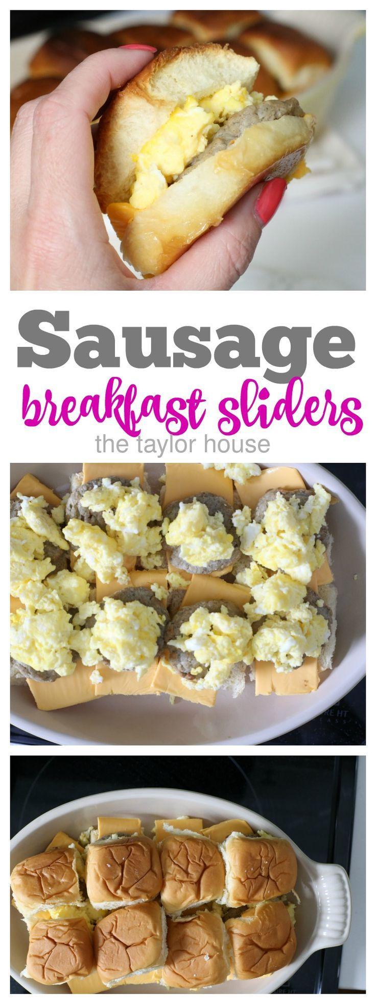 Sausage Breakfast Sandwich Sliders