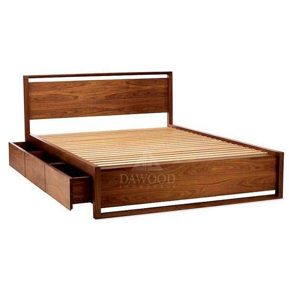 Industrial Steel Frame With Wooden Headboard Queen Bed In 2019 Bed Frame With Storage King Bed Frame Bed