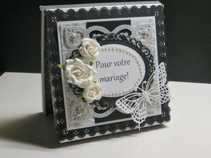 Une magnifique création Boitatou sur le thème du mariage par Michèle, prenez le temps de cliquer sur l'image pour voir les autres photos, de toute beauté!!!