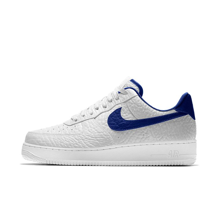 Nike Air Force 1 Low Premium iD (Golden State Warriors) Men's Shoe Size 12.5 (White)