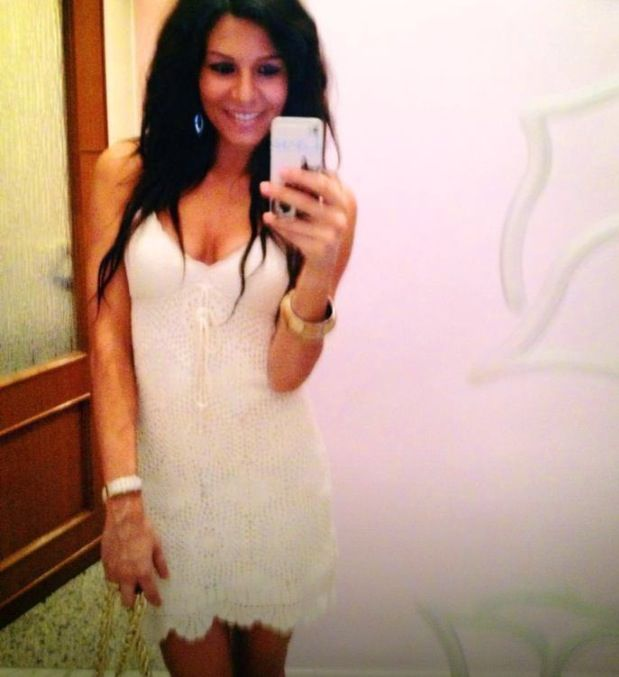 Me in total white , dress