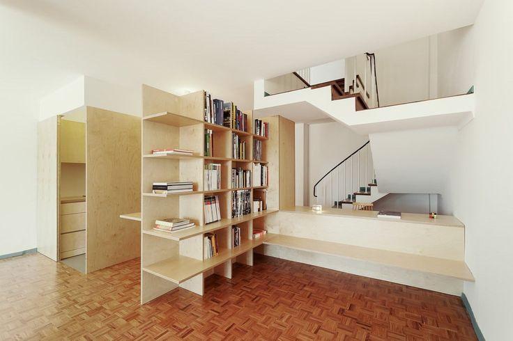 Apartamento Rua de Aveiro . Estudio Branco Del Rio - Arquitectos
