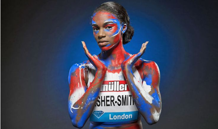 "Dina Asher-Smith confident her time will come as she targets Muller Anniversary Games THE life and times of Dina Asher-Smith. ""Sorry about this,"" she says. ""It is an odd interview. I am forgetting I am full of face paint."""