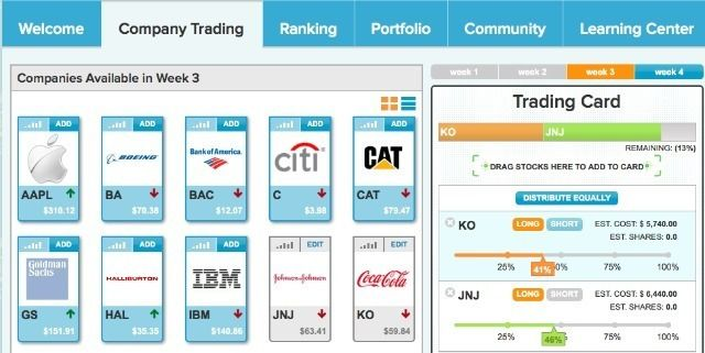 Market_Watch Games to learn the stock market
