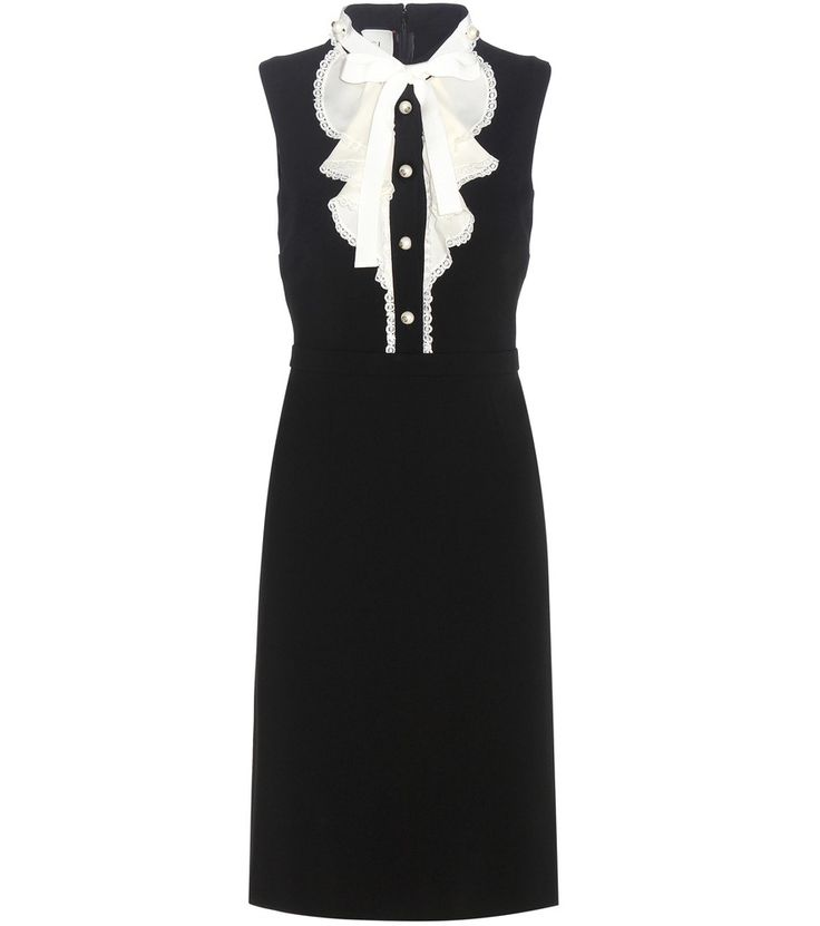 Gucci - Ruffled stretch dress - Sophisticated, yet deceptively comfortable, this…