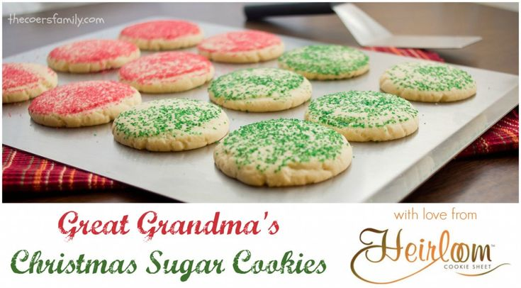 Light and buttery Christmas Sugar Cookies. It's so easy to make this classic Christmas cookie - perfect for decorating with the kids!