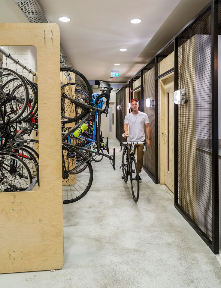 Aldworth James & Bond | Bike storage for cycling brand Rapha's London office