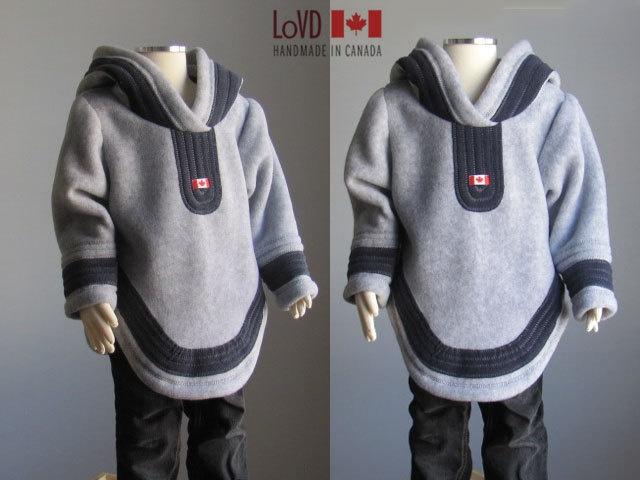 Child Jacket Inuit Inspired Cute Alaska Style