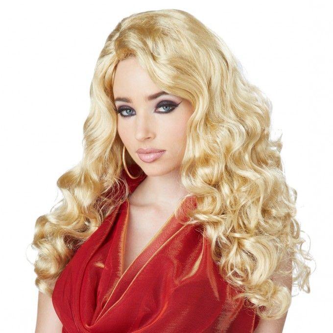 Blonde Shock Waves Wig