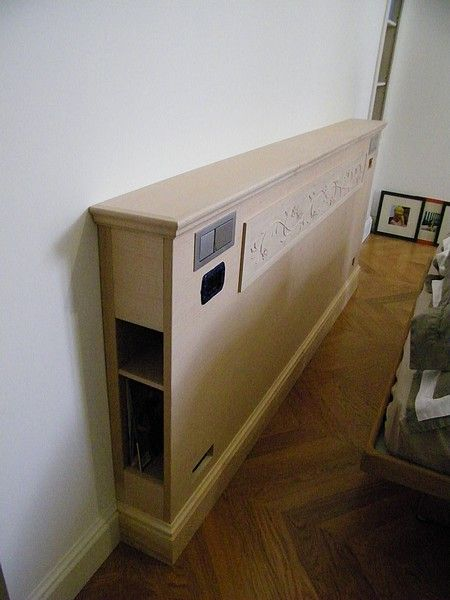 17 best images about d coration on pinterest ikea billy armoires and plan - Tete de lit ikea malm ...