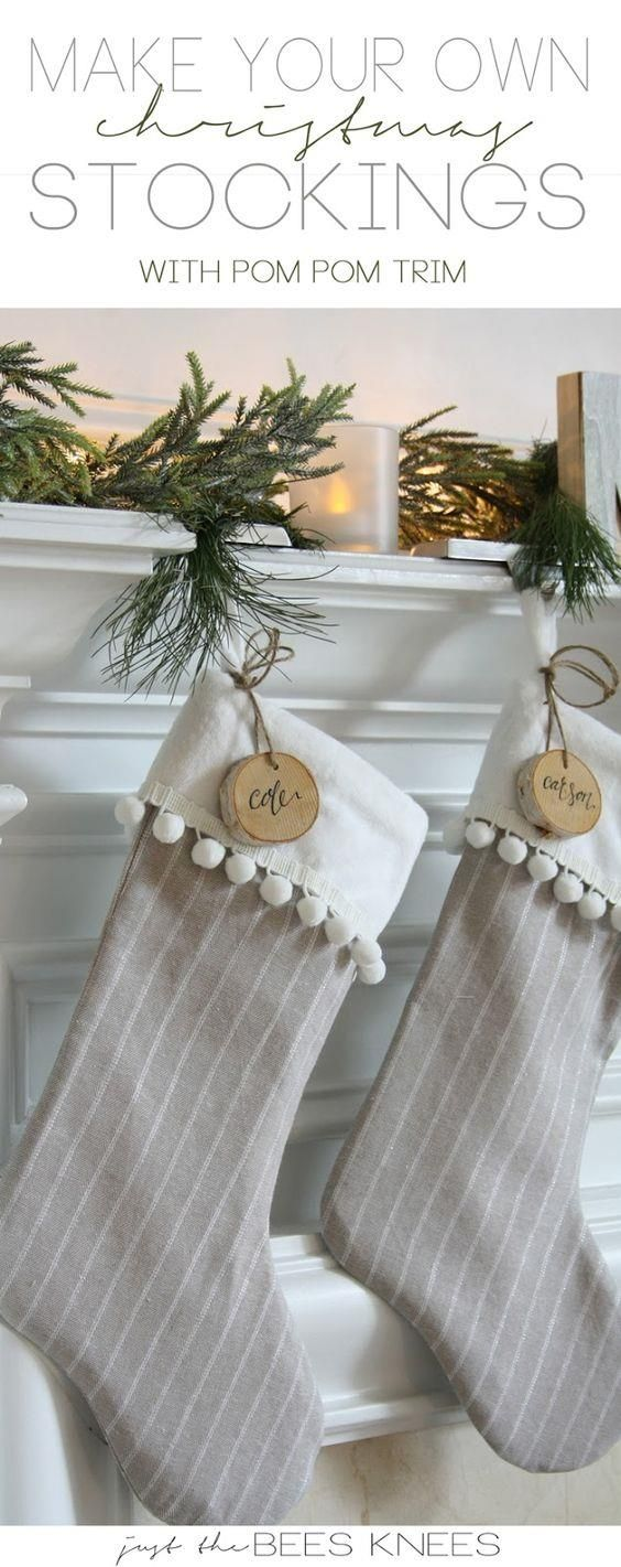Decorate Your Fireplaces With Beautiful Handmade Christmas Stockings