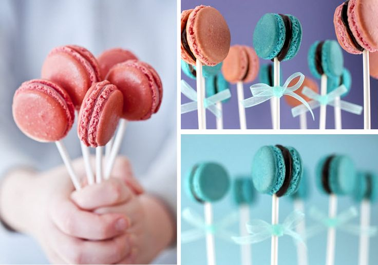 DIY macaroon-pops!Macaroons, Wedding Favors, Baby Shower Ideas, Google Search, Pop Cans, Parties Favors, Cake Pop, Cafes K-Cup, Diy Wedding