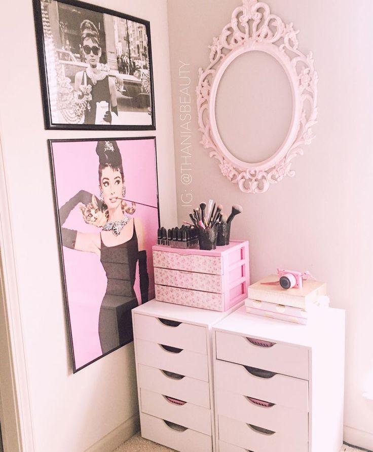 best 25 makeup room decor ideas on pinterest - Fashion Designer Bedroom Theme