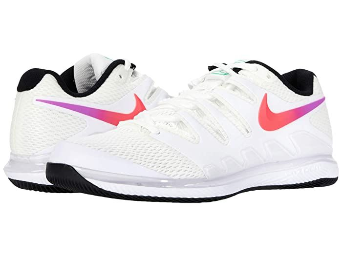 Nike Air Zoom Vapor X Summit White White Black Electro Green Men S Tennis Shoes Bring Speed And Agility To The Match Wit In 2020 Nike Air Zoom Mens Tennis Shoes Nike