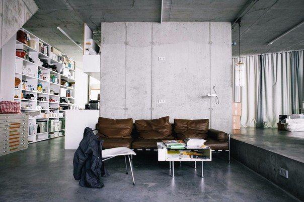 Жильё и офис архитектора Арно Брандельхубера (Германия)