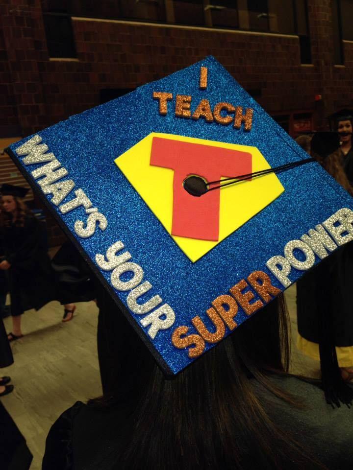 Graduation Cap Decoration Idea for teachers