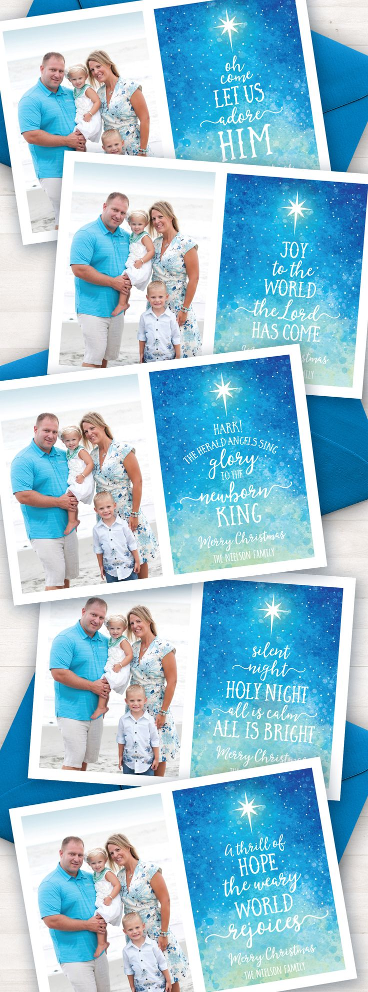 Religious Christmas Cards, Printable Photo Christmas Cards, Joy to the World, Hark the herald angels sing glory to the newborn king, Religious Christmas Cards, Scripture Cards, Xmas Cards, Christian Christmas card, Christian Photo Christmas card, modern Christmas card, silent night card, holy night, Christmas Song, Scripture Card
