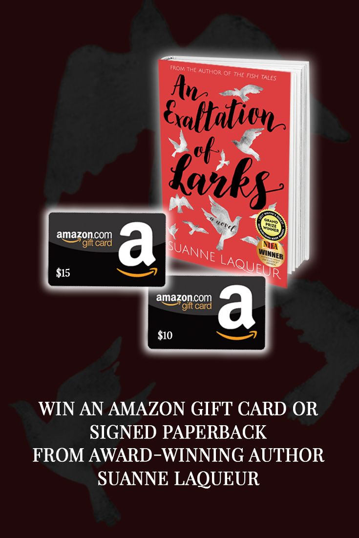 Win A Signed Paperback Or An Amazon Giftcard From Award Winning Author Suanne Https Suannelaqueur Auth Sweepstakes Winner Promote Book Sweepstakes Giveaways