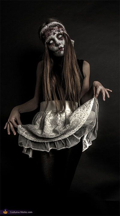 Creative-Unique-Scary-Halloween-Costume-Ideas-For-Girls-Women-2013-2014-5.jpg 400×720 pixels