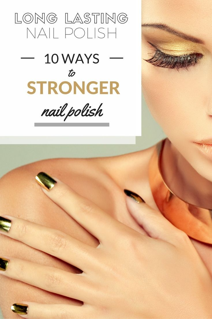 Long Lasting Nail Polish: 10 Ways To Stronger Nail Polish>> http://declarebeauty.com/nails/long-lasting-nail-polish/