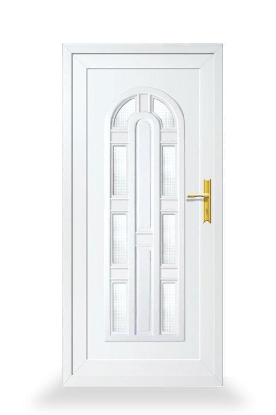Daisy VIII.  A műanyag ajtókat nagyon sokan szeretik, mert dekoratívak, könnyen tisztíthatók, és nagyon jól ellenállnak a környezeti hatásoknak.