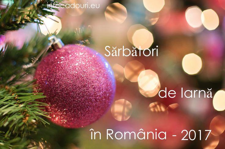 """CALENDARUL """"SARBATORI DE IARNA IN ROMANIA 2017"""" include informatii despre targuri, expozitii si alte evenimente de sarbatori, din Bucuresti si alte orase din tara si idei de cadouri pentru Craciun si Anul Nou . El va fi actualizat permanent in perioada 21 noiembrie- 31 decembrie 2017."""